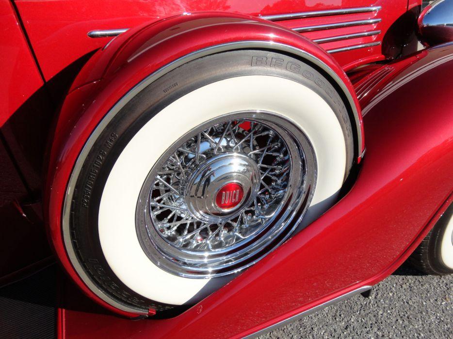 1935 BUICK 90L LIMOUSINE CUSTOM luxury retro wheel    t wallpaper