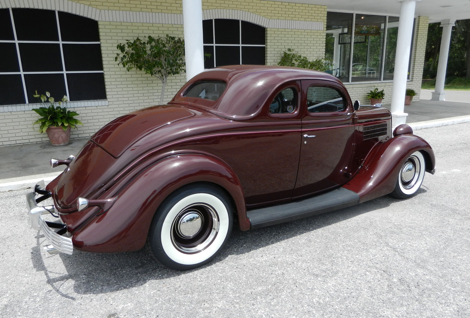 1935 ford 5 window coupe hot rod rods retro custom d for 1936 dodge 5 window coupe