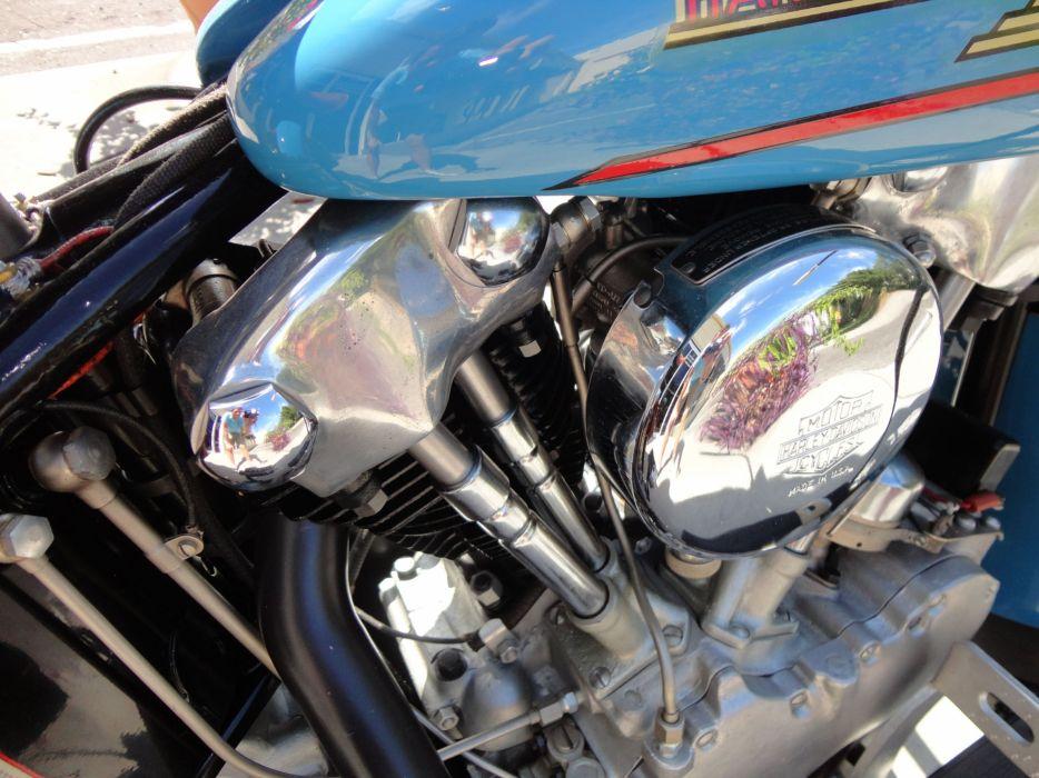 1937 HARLEY DAVIDSON EL KNUCKLEHEAD retro engine     g wallpaper
