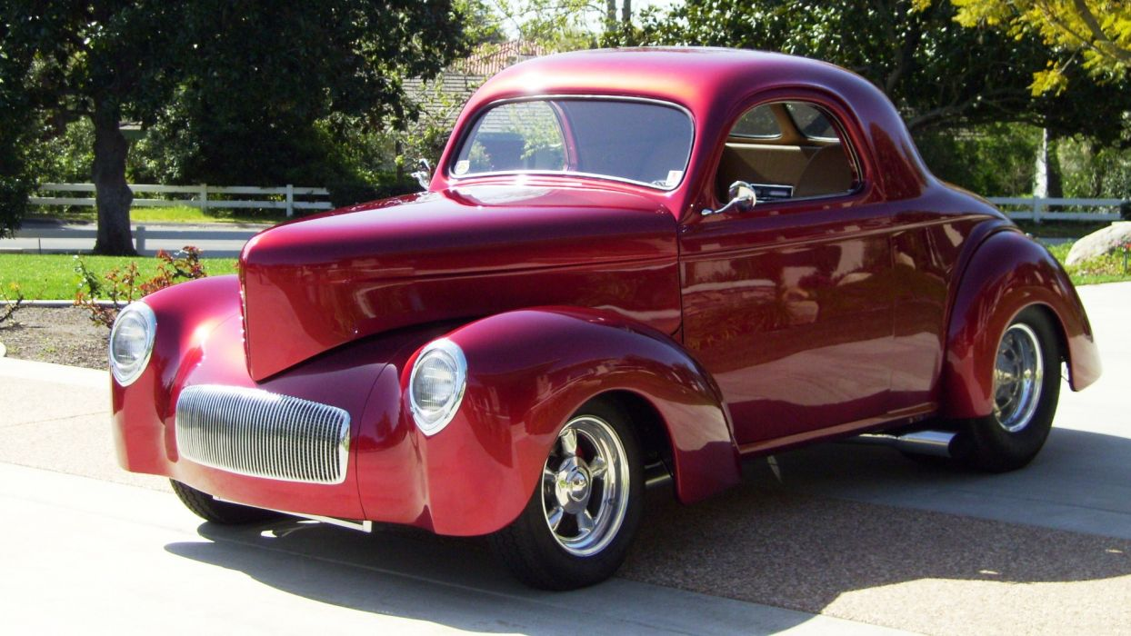 1941 Willys Coupe hot rod rods retro  g_JPG wallpaper