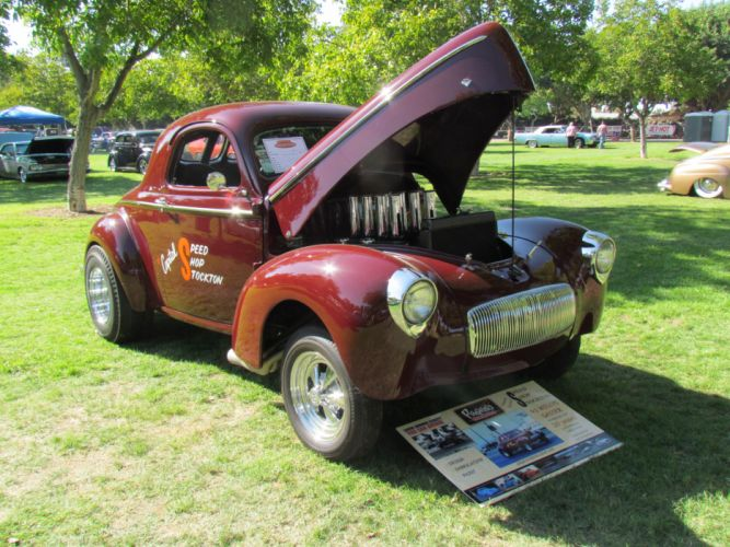 1941 Willys Coupe hot rod rods retro drag race racing gj wallpaper