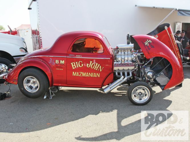 1941 Willys Coupe hot rod rods retro drag race racing engine d wallpaper