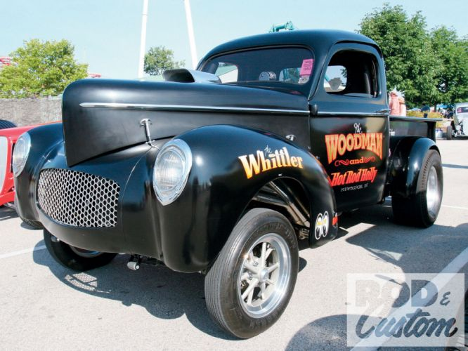 1941 Willys Coupe hot rod rods retro drag race racing pickup g wallpaper