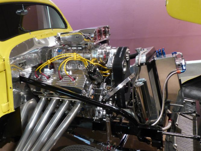 1941 Willys Coupe hot rod rods retro drag race racing engine t wallpaper