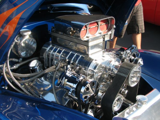 1941 Willys Coupe hot rod rods retro engine t wallpaper