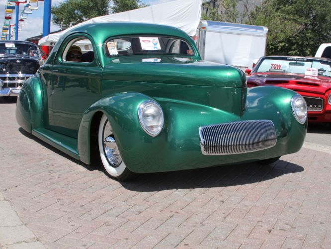 1941 Willys Coupe hot rod rods retro lowrider custom t wallpaper