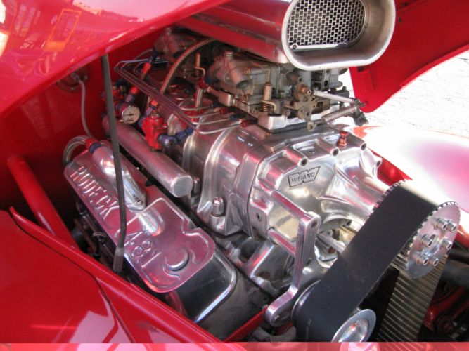 1941 Willys Coupe hot rod rods retro engine d wallpaper