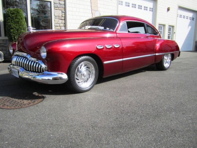 1949 Buick hot rod rods retro custom g wallpaper