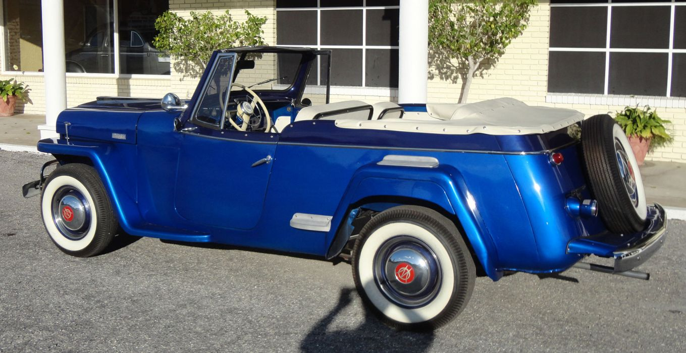1949 WILLYS JEEPSTER 4x4 retro jeep   hh wallpaper
