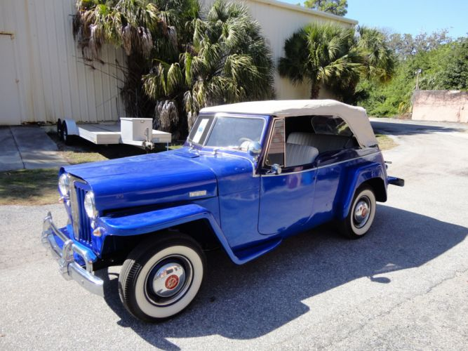 1949 WILLYS JEEPSTER 4x4 retro jeep r wallpaper