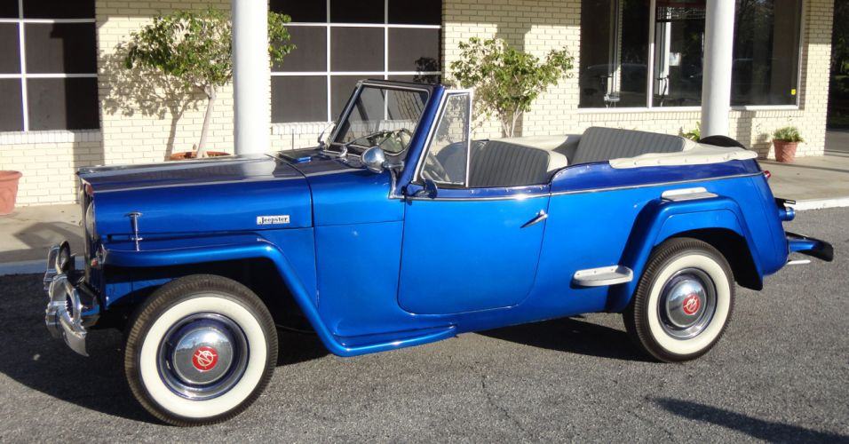 1949 WILLYS JEEPSTER 4x4 retro jeep g wallpaper