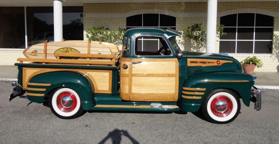 1950 chevrolet 3100 custom woody pickup retro f wallpaper 2030x1044 173730 wallpaperup. Black Bedroom Furniture Sets. Home Design Ideas