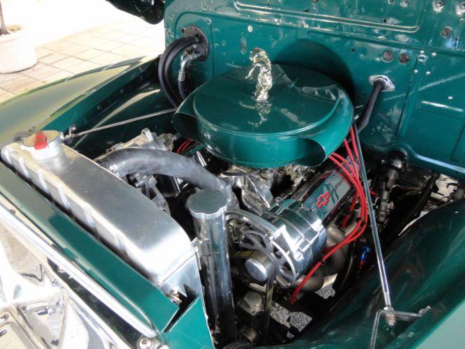1950 CHEVROLET 3100 CUSTOM WOODY PICKUP retro engine h wallpaper