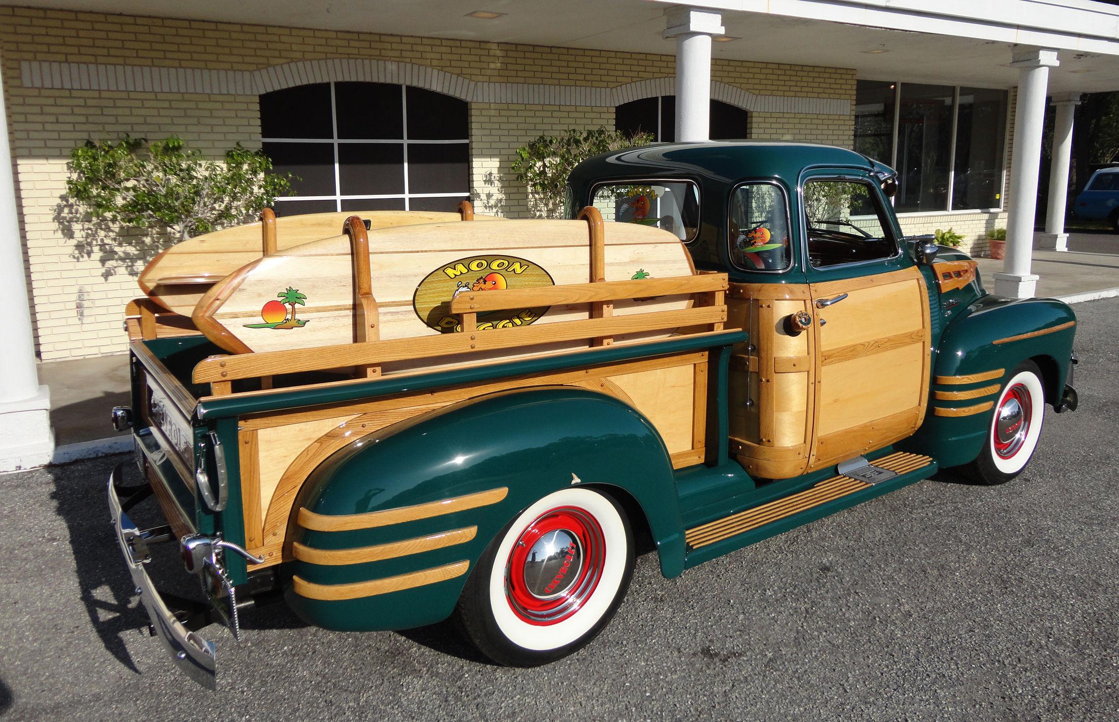 1950 Chevrolet 3100 Custom Woody Pickup Retro Fw Wallpaper 2268x1464 173753 Wallpaperup
