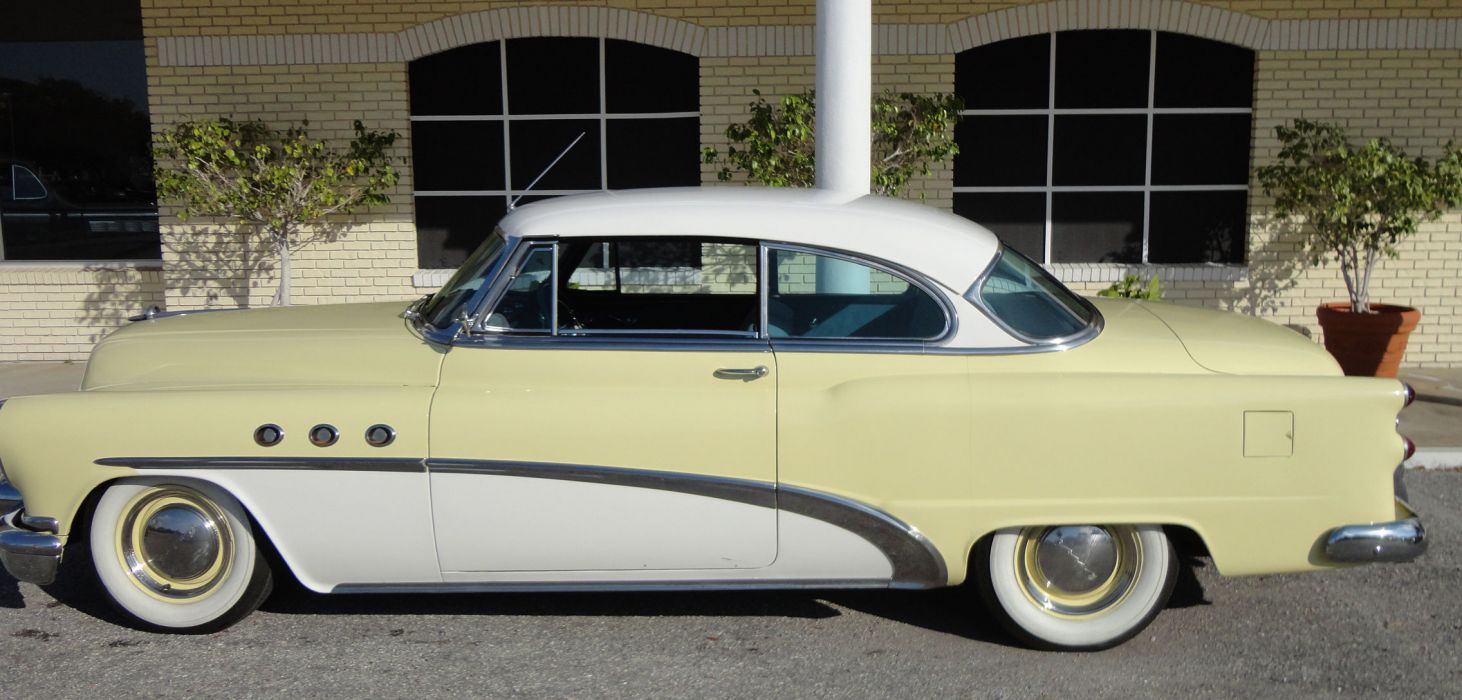 1953 BUICK SPECIAL COUPE retro  hf wallpaper