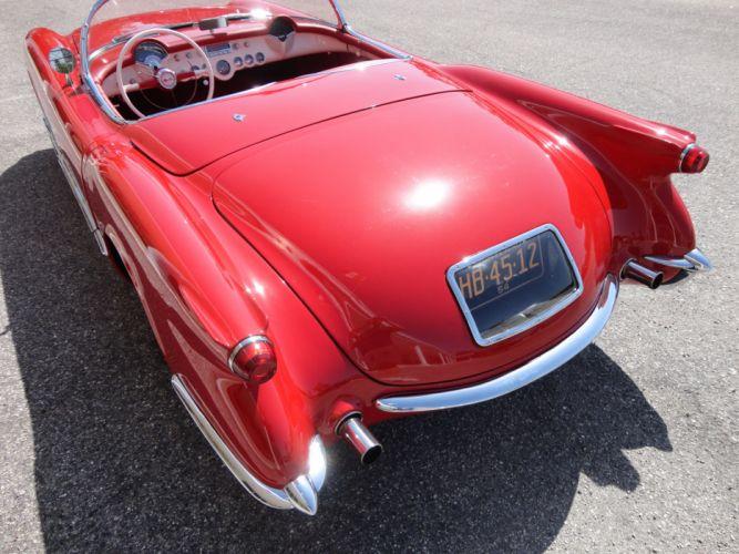 1954 CHEVROLET CORVETTE supercar muscle retro interior t wallpaper