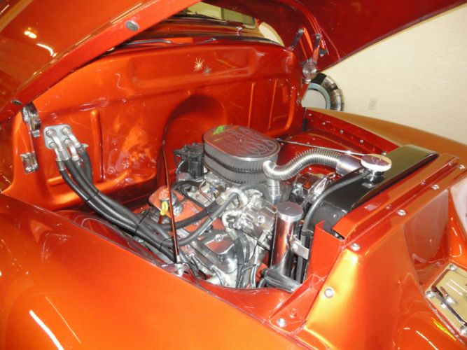 1954 CHEVROLET PANEL TRUCK 3100 retro custom hot rod rods engine h wallpaper