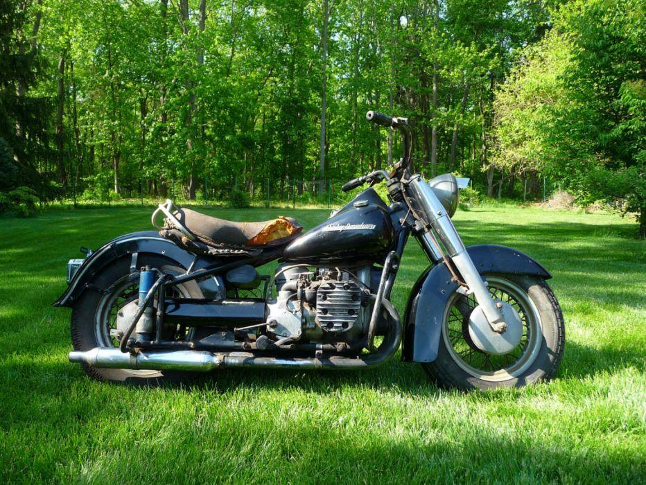 1942 Harley Davidson XA retro hh wallpaper | 1440x1081