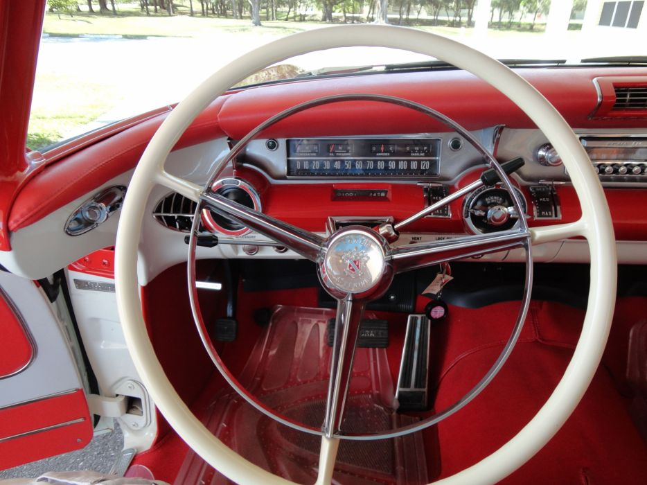 1957 BUICK CABALLERO ESTATE STATIONWAGON retro interior  g wallpaper