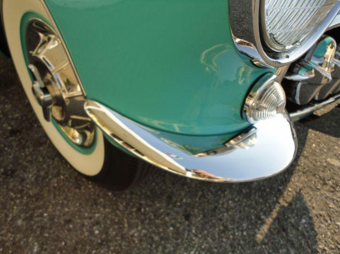 1957 CHEVROLET CORVETTE CONVERTIBLE muscle supercar retro wheel g wallpaper