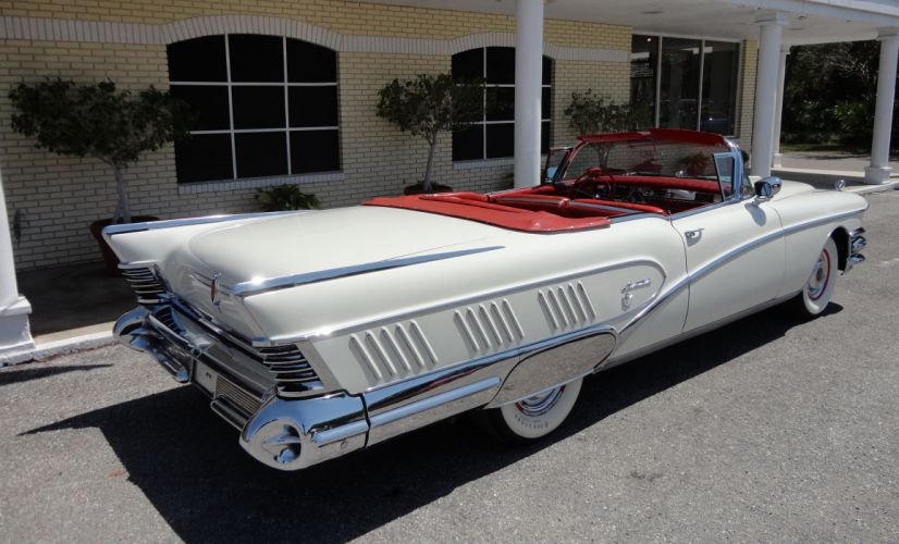 1958 BUICK LIMITED CONVERTIBLE retro luxury h wallpaper