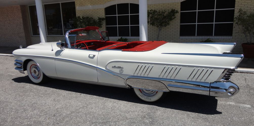 1958 BUICK LIMITED CONVERTIBLE retro luxury hd wallpaper