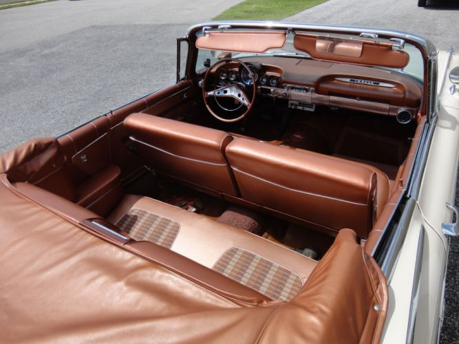 1959 CHEVROLET IMPALA CONVERTIBLE luxury retro interior h wallpaper