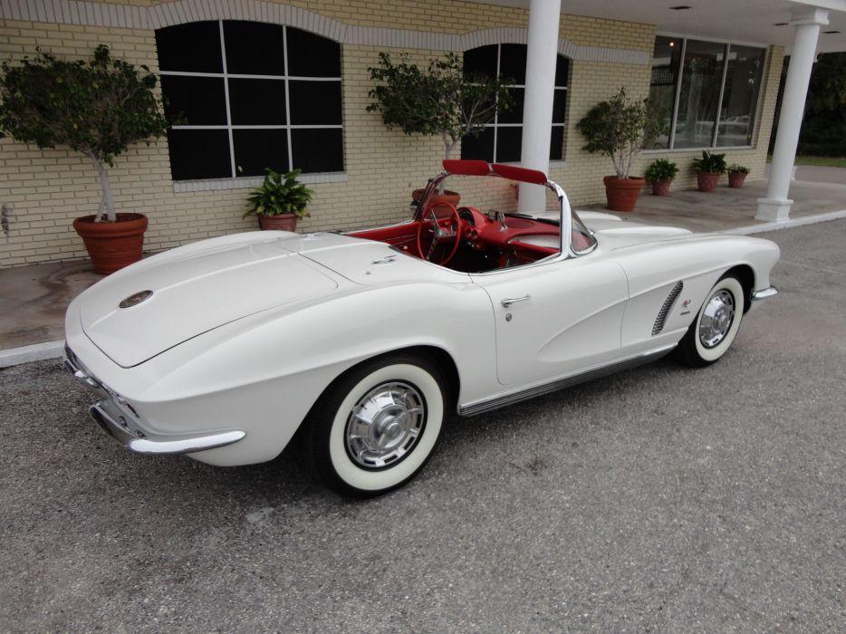 1962 Chevrolet Corvette Convertible supercar classic muscle   h wallpaper