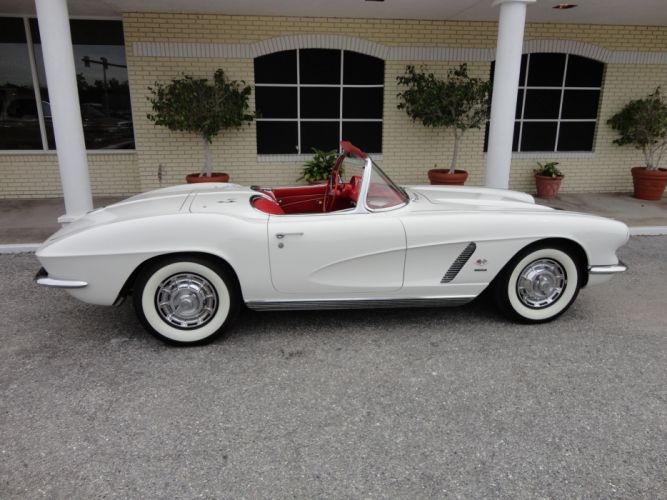 1962 Chevrolet Corvette Convertible supercar classic muscle h wallpaper