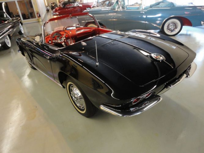 1962 Chevy Corvette Convertible supercar muscle classic f wallpaper