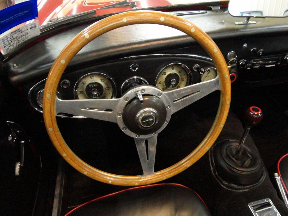 1963 AUSTIN HEALEY 3000 MK-II classic interior  ge wallpaper