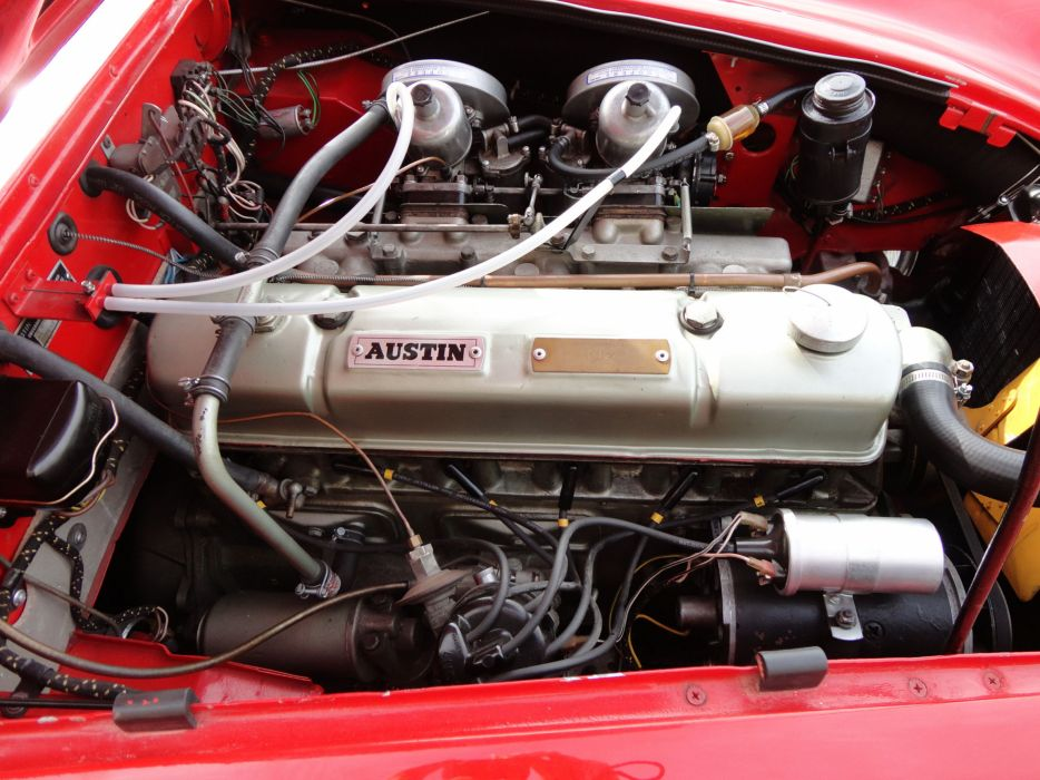 1963 AUSTIN HEALEY 3000 MK-II classic engine h wallpaper