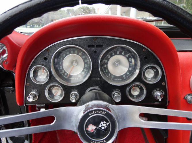 1963 CHEVROLET CORVETTE STINGRAY CONVERTIBLE supercar muscle classic interior j wallpaper