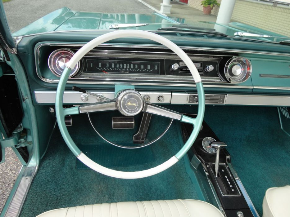 1965 CHEVROLET IMPALA V-8 CONVERTIBLE muscle classic interior  h wallpaper
