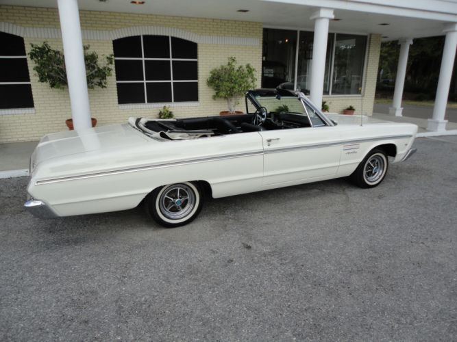 1965 PLYMOUTH SPORT FURY CONVERTIBLE muscle classic t wallpaper