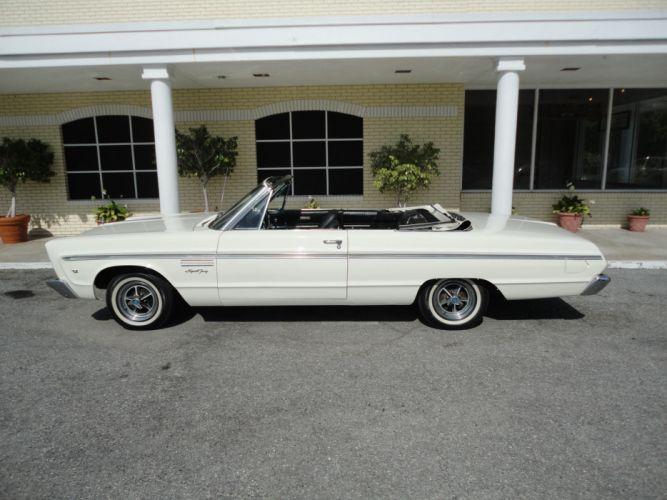1965 PLYMOUTH SPORT FURY CONVERTIBLE muscle classic f wallpaper