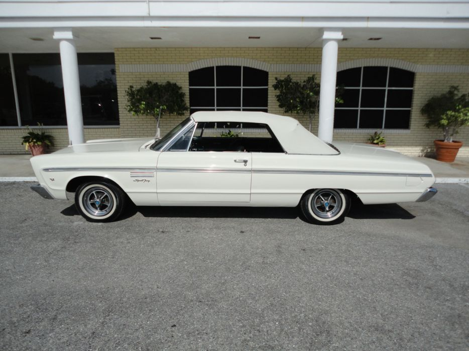 1965 PLYMOUTH SPORT FURY CONVERTIBLE muscle classic   tw wallpaper