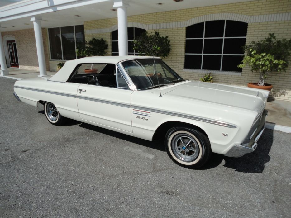 1965 PLYMOUTH SPORT FURY CONVERTIBLE muscle classic  h wallpaper