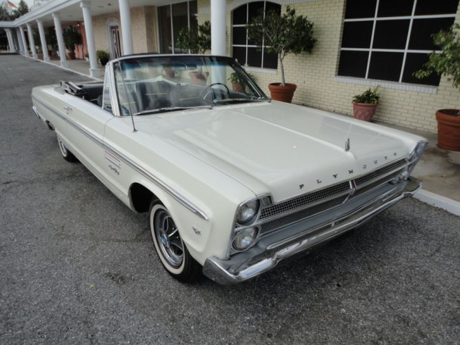 1965 PLYMOUTH SPORT FURY CONVERTIBLE muscle classic 4 wallpaper