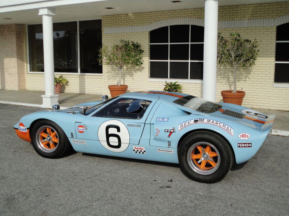1966 FORD GT40 CAV Replica supercar race racing g-t    g wallpaper