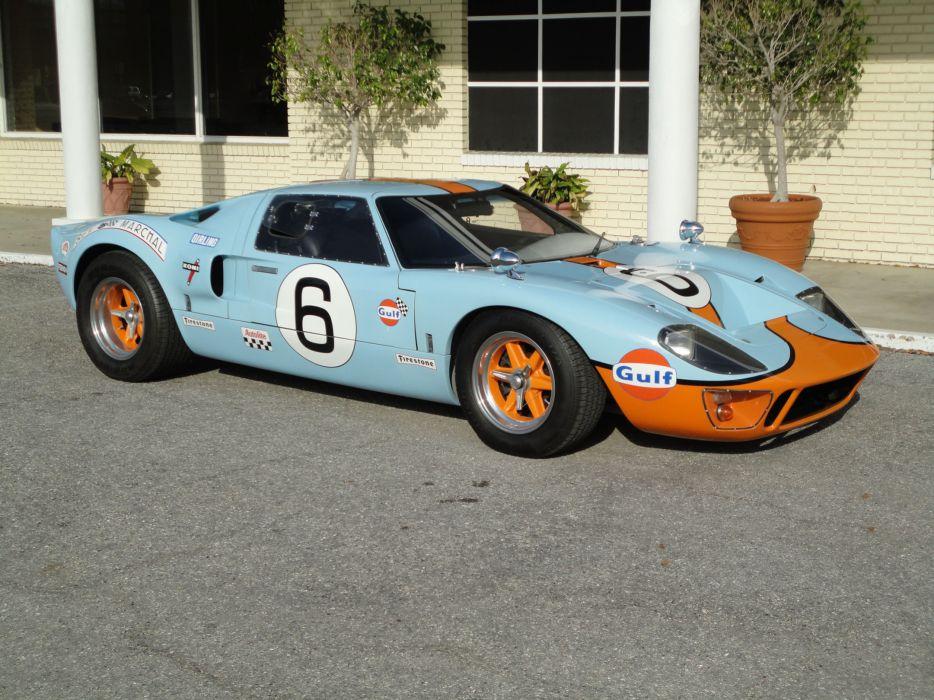 1966 FORD GT40 CAV Replica supercar race racing g-t   gs wallpaper