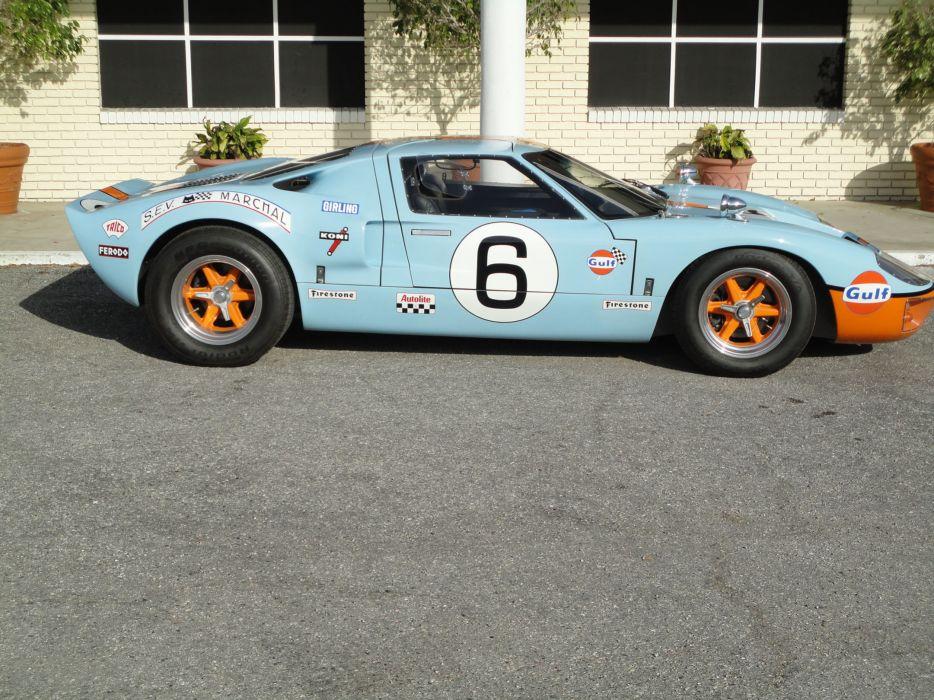 1966 FORD GT40 CAV Replica supercar race racing g-t  f wallpaper