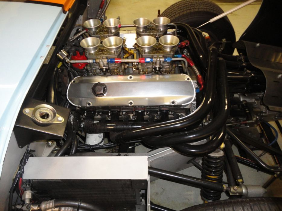 1966 FORD GT40 CAV Replica supercar race racing g-t engine   g wallpaper