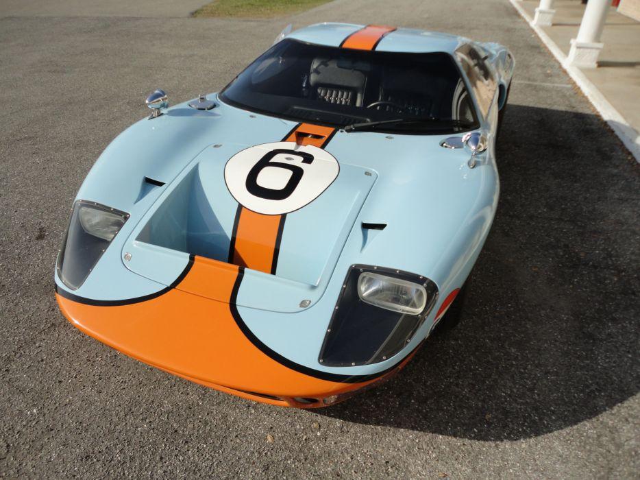 1966 FORD GT40 CAV Replica supercar race racing g-t  gd wallpaper