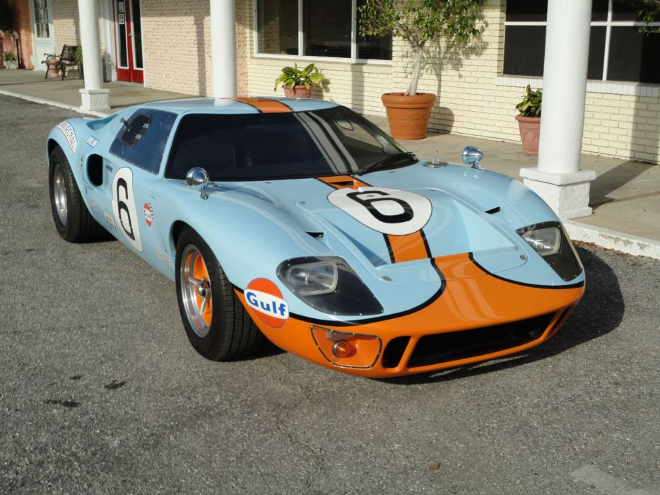 1966 FORD GT40 CAV Replica supercar race racing g-t  t wallpaper