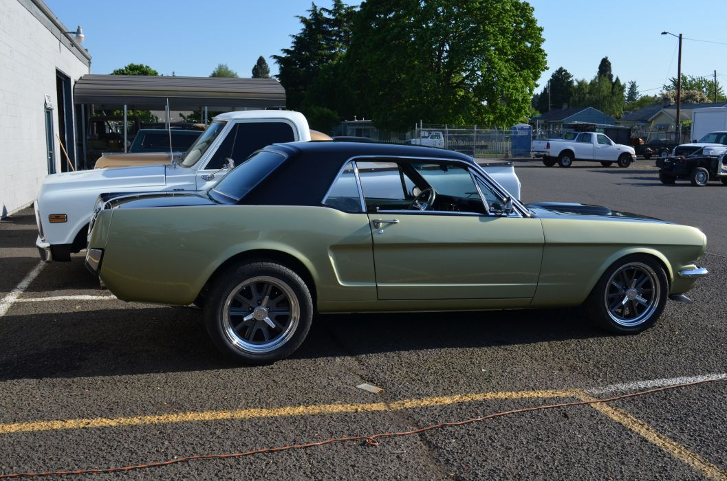 1966 FORD MUSTANG hot rod rods classic muscle   g wallpaper