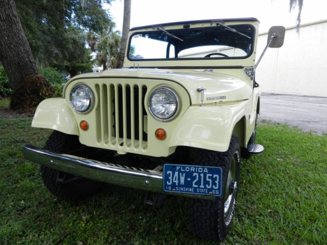 1966 WILLYS KAISER JEEP Cj5 4x4 classic g wallpaper
