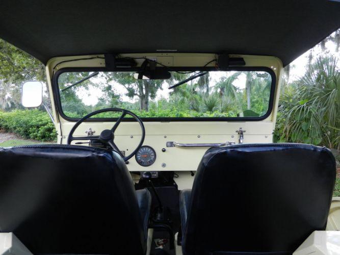1966 WILLYS KAISER JEEP Cj5 4x4 classic interior h wallpaper