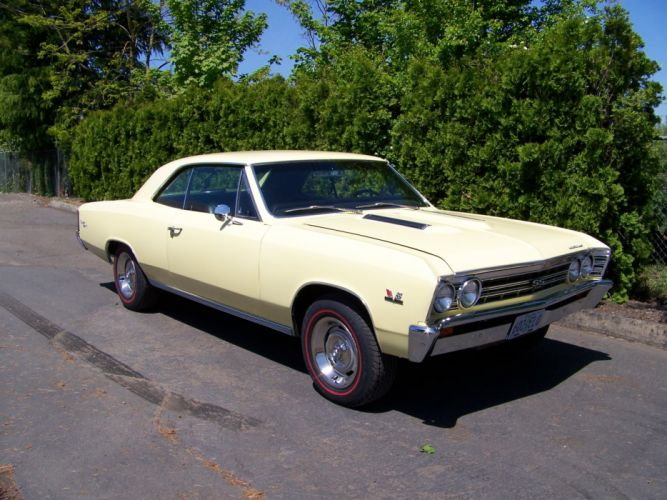 1967 CHEVROLET CHEVELLE 396 muscle classic g wallpaper