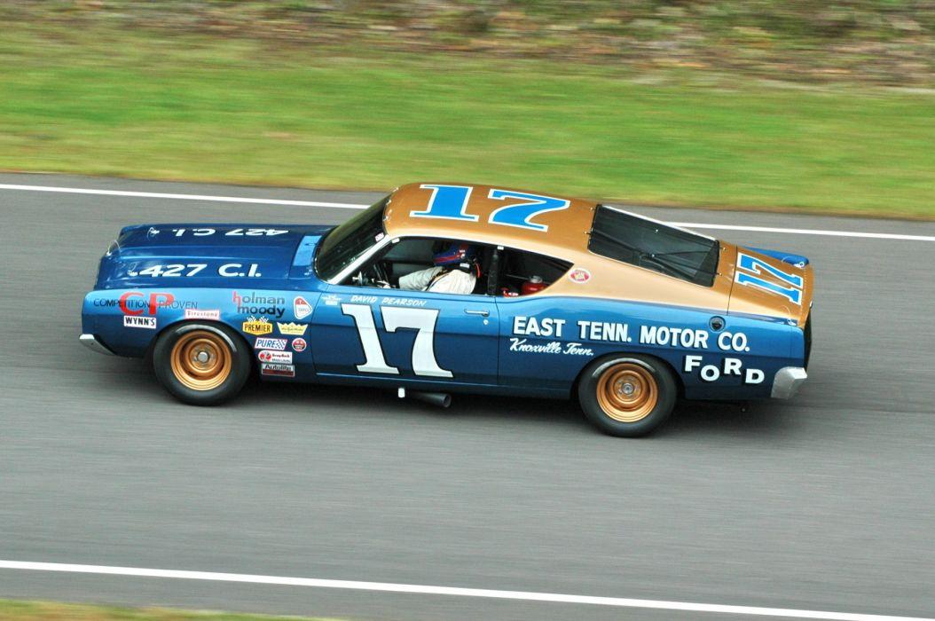 1968 Ford Torino NASCAR classic race racing hot rod rods      g wallpaper
